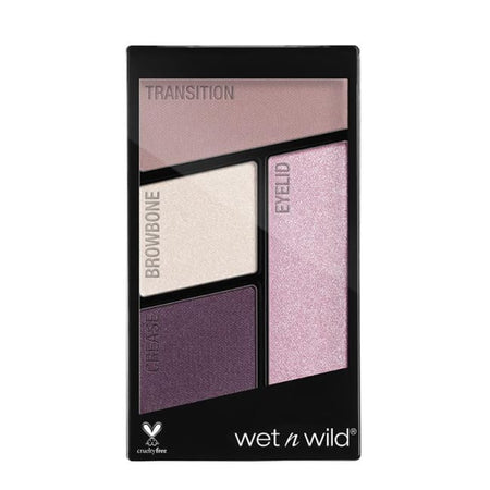 Wet n Wild Color Icon Quad Eyeshadow Palette - Petalette