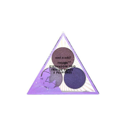 Wet n Wild Crystal Cavern Mega Glo Eyeshadow Trio - Amethyst - Eyeshadow