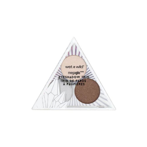 Wet n Wild Crystal Cavern Mega Glo Eyeshadow Trio - Clear Quartz - Eyeshadow