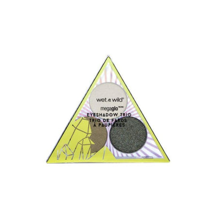 Wet n Wild Crystal Cavern Mega Glo Eyeshadow Trio - Jade