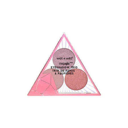 Wet n Wild Crystal Cavern Mega Glo Eyeshadow Trio - Rose Quartz