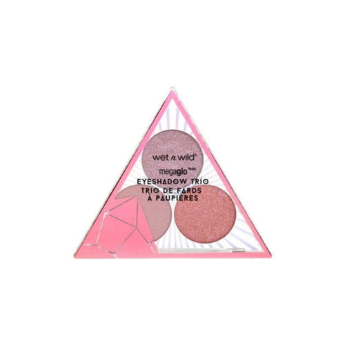 Wet n Wild Crystal Cavern Mega Glo Eyeshadow Trio - Rose Quartz - Eyeshadow
