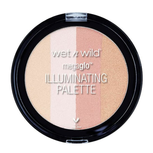 Wet n Wild MegaGlo Illuminating Palette - Catwalk Pink - Highlighter