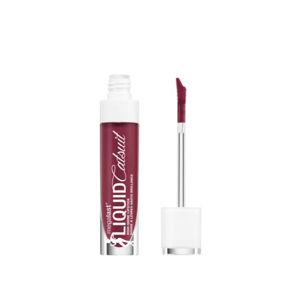 Wet n Wild MegaLast Liquid Catsuit High-Shine Lipstick - Wine Is The Answer - Lipstick