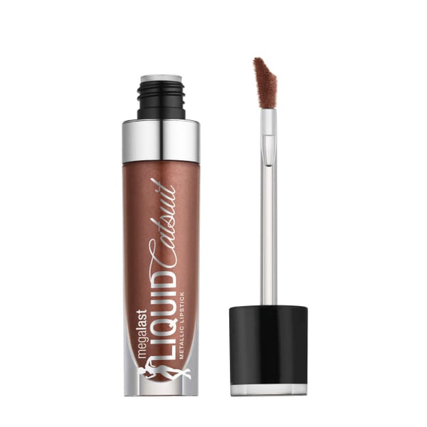 Wet n Wild MegaLast Liquid Catsuit Metallic Lipstick - Ride On My Copper - Lipstick