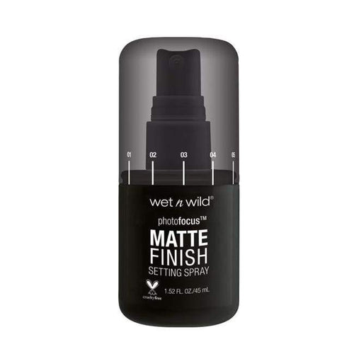 Wet n Wild Photo Focus Matte Setting Spray - Matte Appeal - Setting Spray