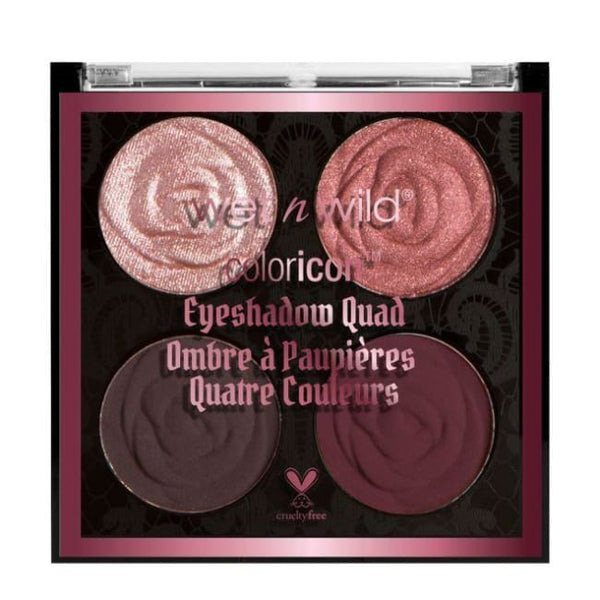 Wet n Wild Rebel Rose Color Icon Eyeshadow Quad - Bed of Roses - Eyeshadow