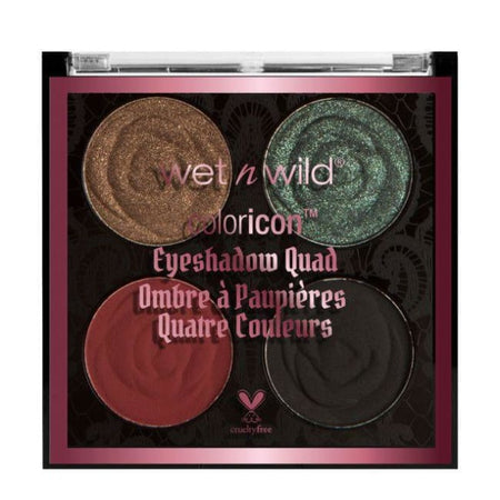 Wet n Wild Rebel Rose Color Icon Eyeshadow Quad - Bed of Roses