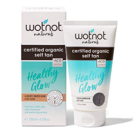 Wotnot Certified Organic Self Tan Lotion Light/Medium