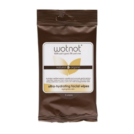 Wotnot Ultra-Hydrating Facial Wipes Pocket Pack