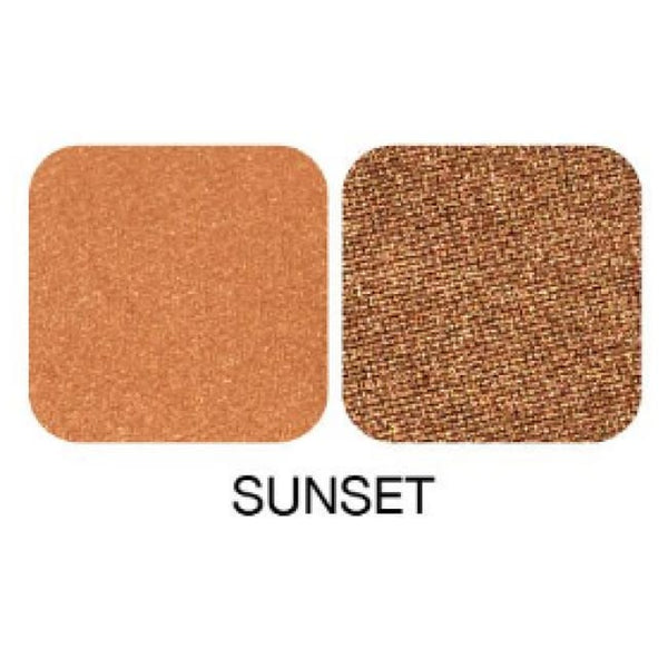 Zuii Organic Duo Eyeshadow Palette - Sunset - Eyeshadow
