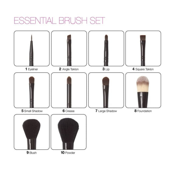 Zuii Organic Essential Brush Set - Brush Set