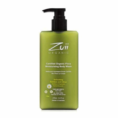 Zuii Organic Flora Body Wash - Infused With Ionic Silver