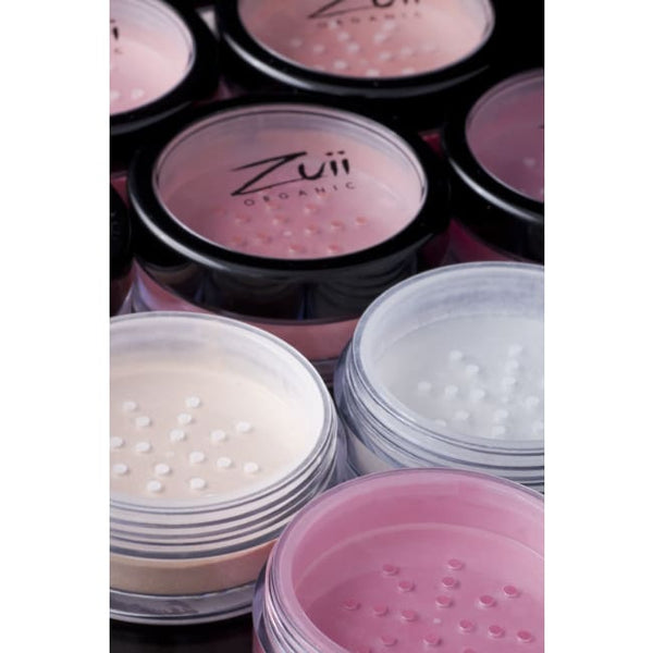 Zuii Organic Flora Diamond Sparkle Blush - Raspberry - Blush