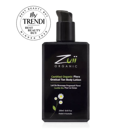Zuii Organic Flora Gradual Tan Body Lotion - Tan