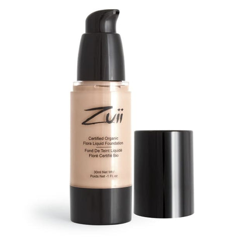 Zuii Organic Flora Liquid Foundation - Beige Medium - Foundation