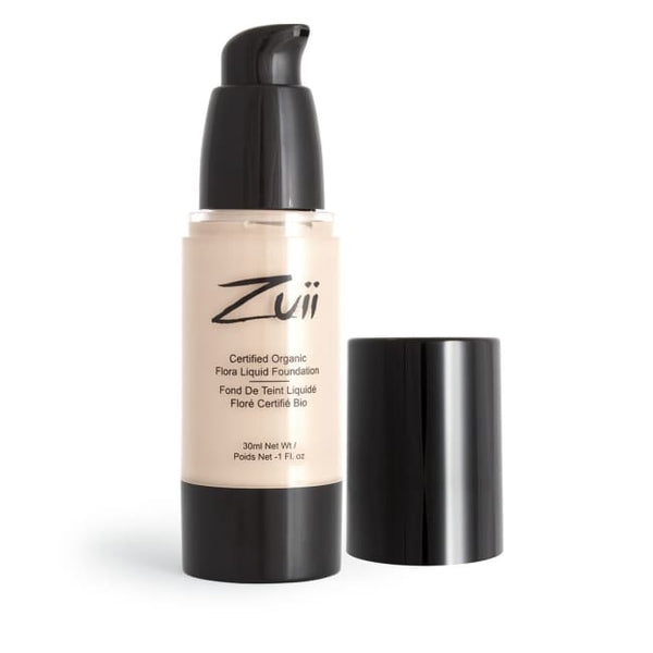Zuii Organic Flora Liquid Foundation - Light Rose - Foundation