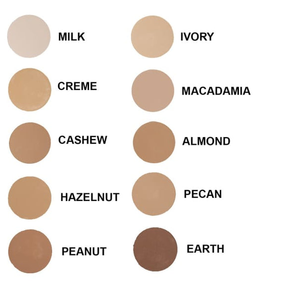 Zuii Organic Flora Powder Foundation - Cashew - Foundation