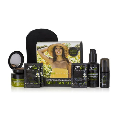 Zuii Organic Flora Self Tan Kit
