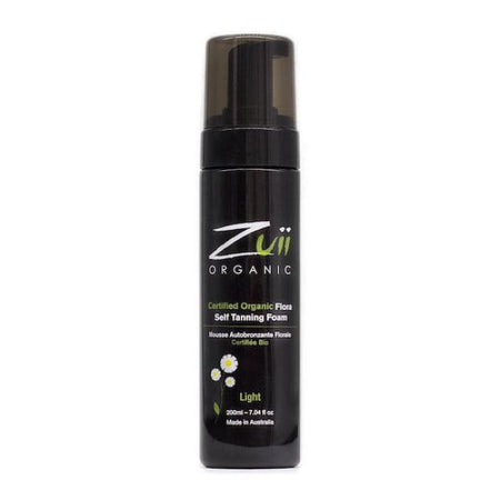 Zuii Organic Flora Self Tanning Foam - Light