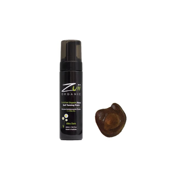 Zuii Organic Flora Self Tanning Foam - Ultra Dark - Tan