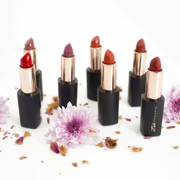 Zuii Organic Lux Lipstick - Copper - Powder
