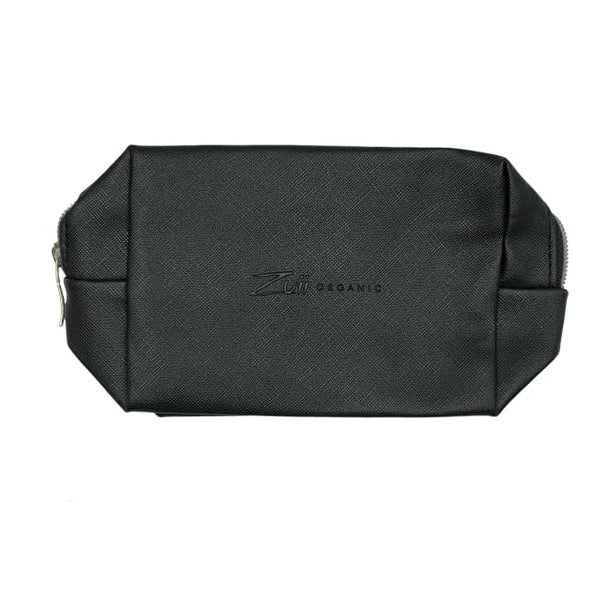 Zuii Organic Makeup Bag - Medium Black - Makeup Bag