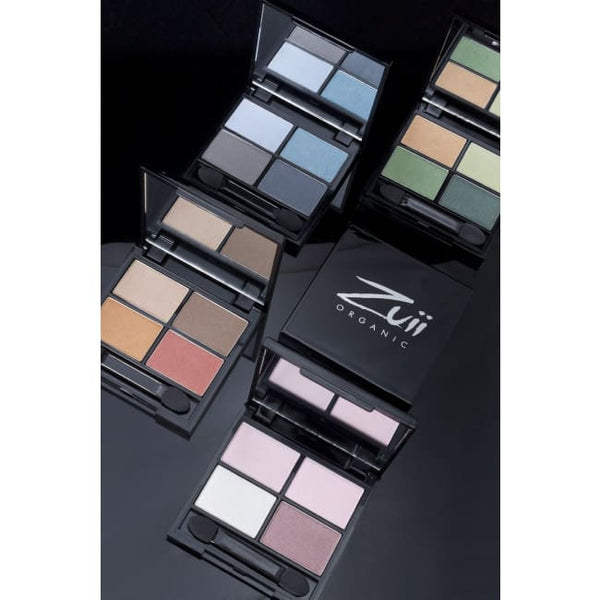 Zuii Organic Quad Eyeshadow Palette - Summer - Eyeshadow
