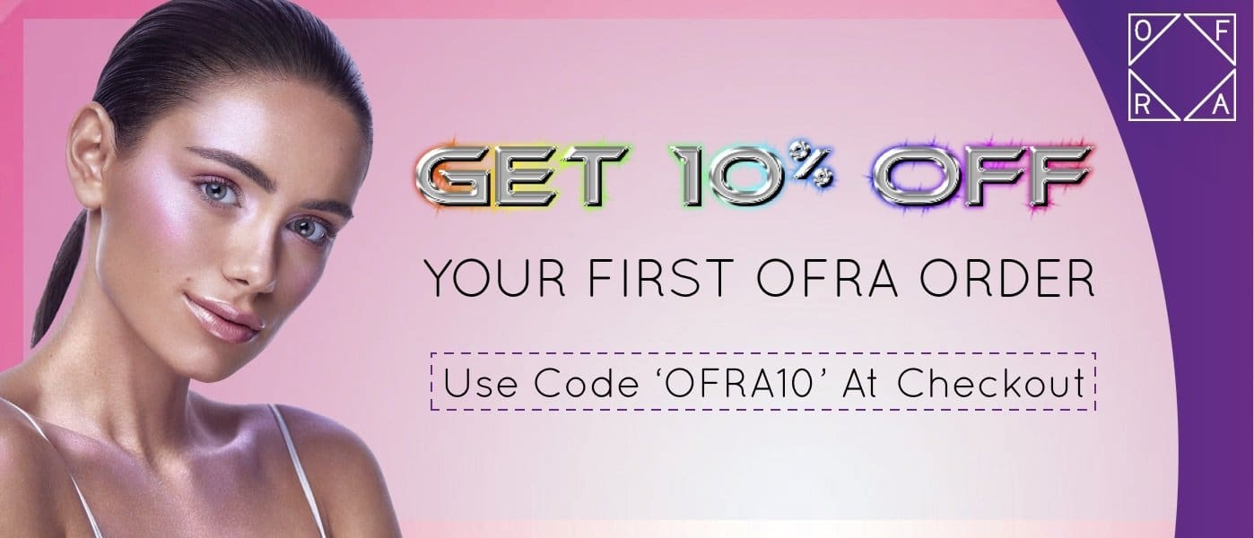 ofra cosmetics 10% off your first order bella scoop