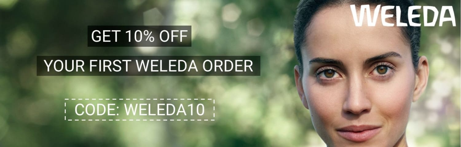 weleda 10% off your first order bella scoop