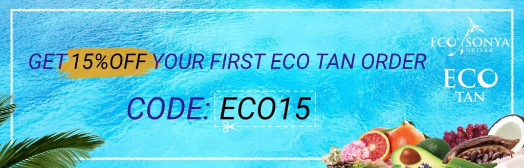 eco tan 15% off first order bella scoop