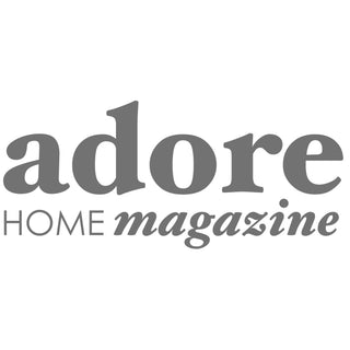 Adore Home magazine logo press coverage