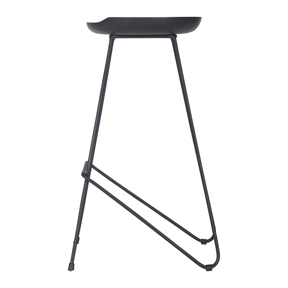 Aalia Barstool | Black - Uniqwa Collections wholesale furniture suppliers for interior designers australia