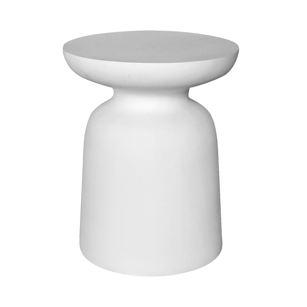 Akoni Side Table | White