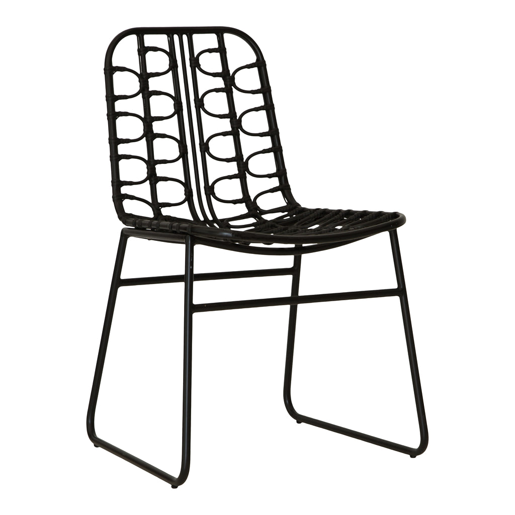 Amanzi Dining Chair | Black