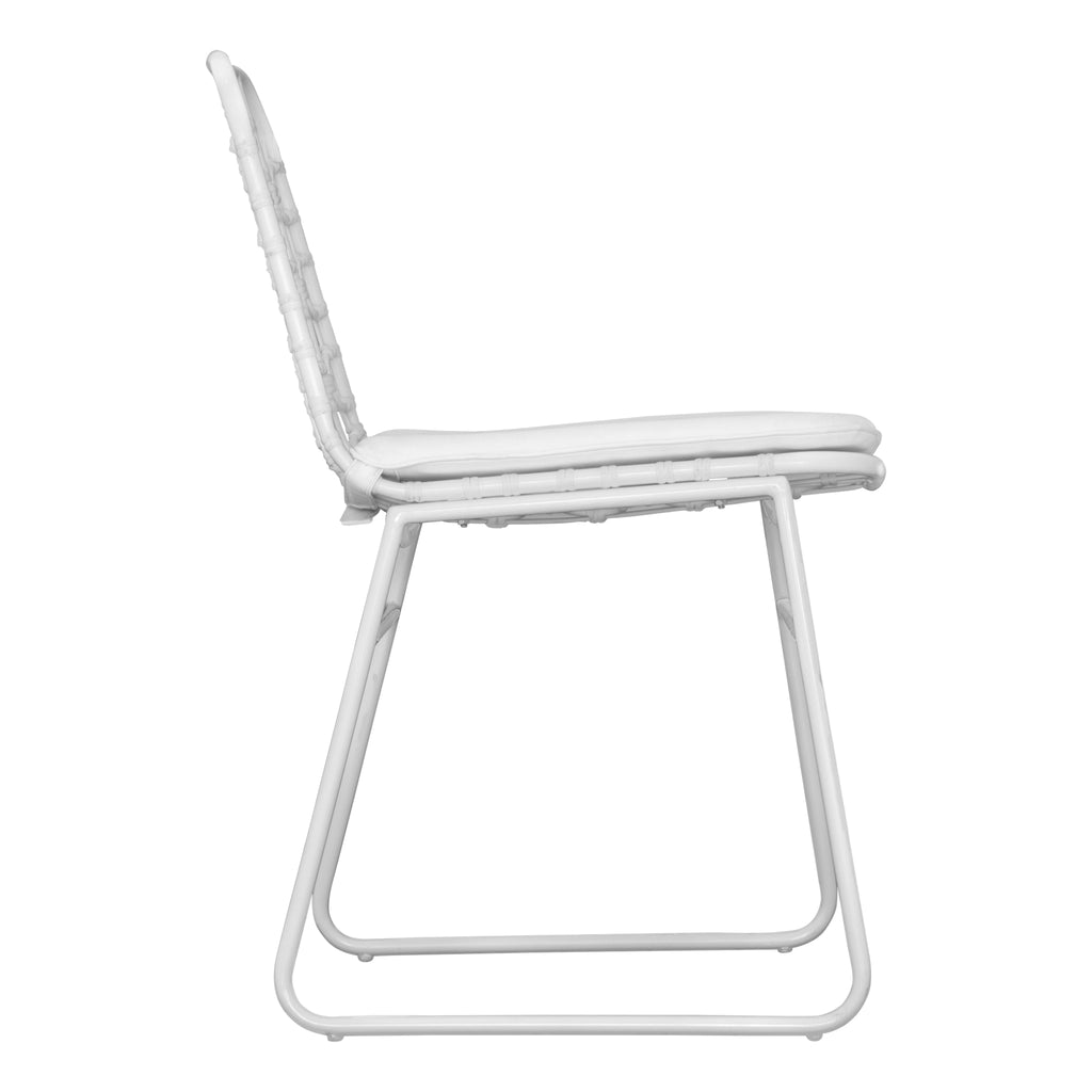 Amanzi Dining Chair | White - Uniqwa Collections wholesale furniture suppliers for interior designers australia