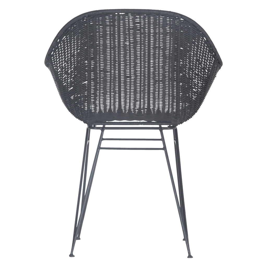 Angola Dining Chair | Black