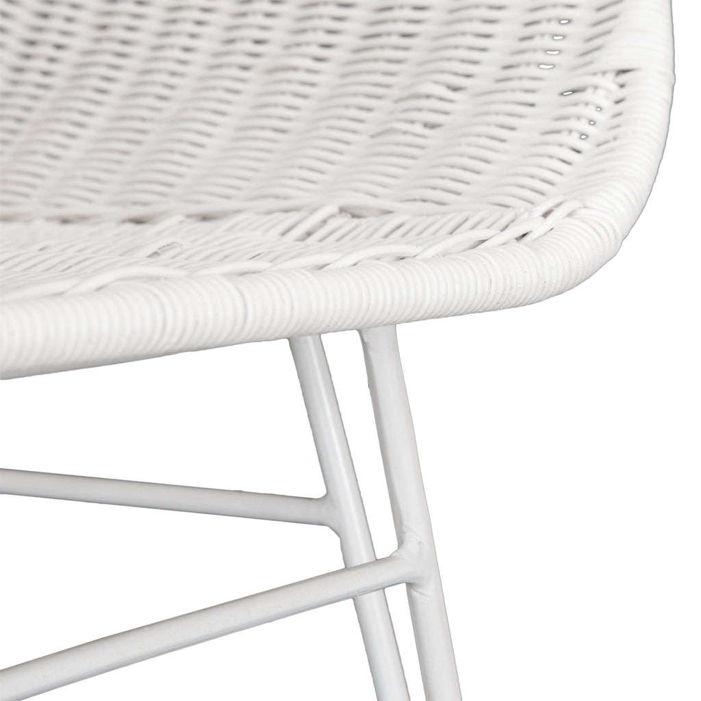 Angola Dining Chair | White