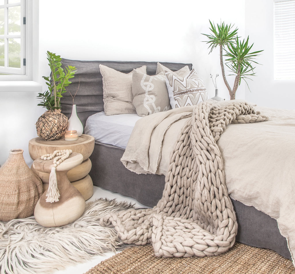 Animal Friendly Sheeprug | 100% Wool | Light Grey - Uniqwa Collections wholesale furniture suppliers for interior designers australia