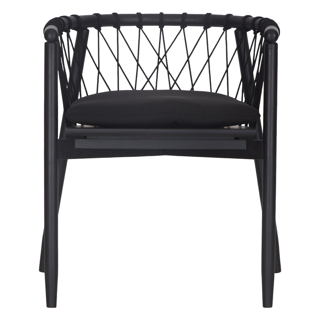 Arniston Dining Chair | Black - Uniqwa Collections wholesale furniture suppliers for interior designers australia