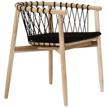 Arniston Dining Chair | Black Natural