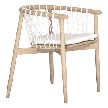 Arniston Dining Chair | White - Uniqwa Collections wholesale furniture suppliers for interior designers australia