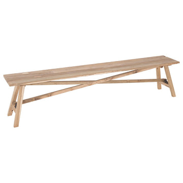 Aruba Bench | Reclaimed Teak - Uniqwa Collections wholesale furniture suppliers for interior designers australia