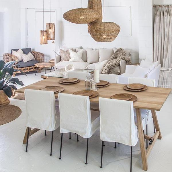Aruba Dining Table | Reclaimed Teak - Uniqwa Collections wholesale furniture suppliers for interior designers australia