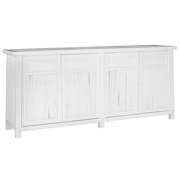 Bamboo Buffet | White | Large