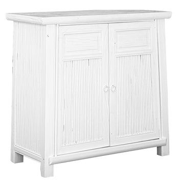 Bamboo Buffet | White | Small