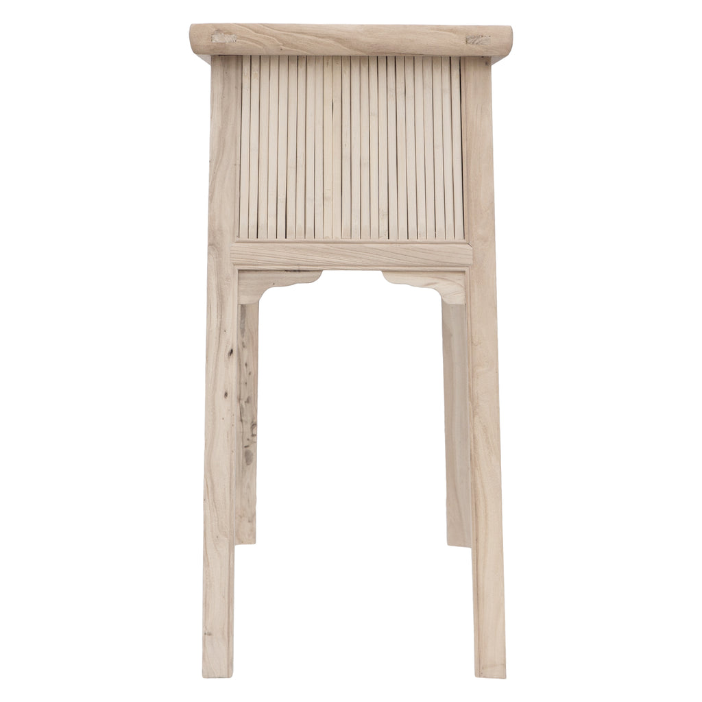 Bamboo Console Table | Blonde
