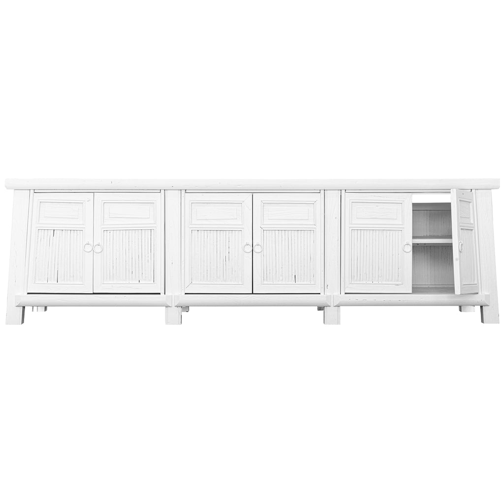 Bamboo Entertainment Unit | White