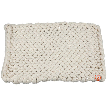 100% Organic Pure Wool Bathmat | Cream