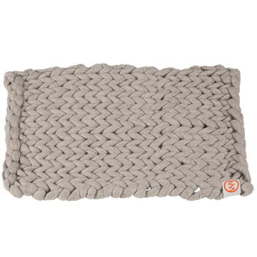 100% Organic Pure Wool Bathmat | Light Grey